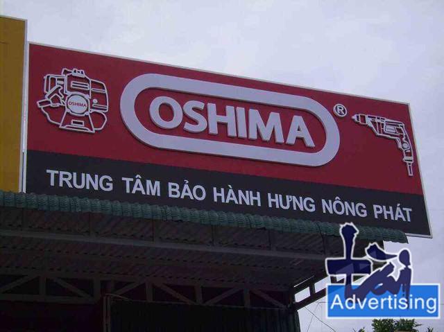 Bảng hiệu Oshima