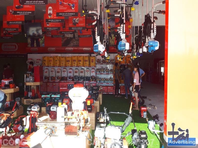 Thi công showroom